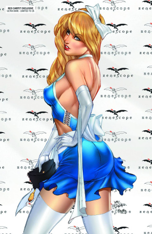 Grimm Fairy Tales: Wonderland #25 (Red Carpet Alice Ultra Rare Cover)