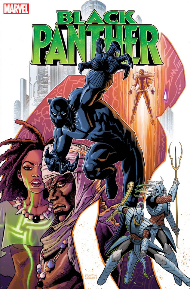 Black Panther #19 (Weaver Cover)