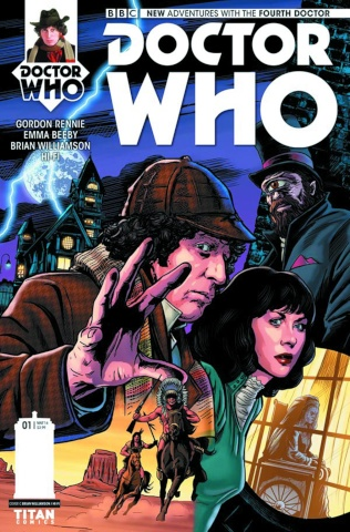 Doctor Who: New Adventures with the Fourth Doctor #1 (Williamson Cover)