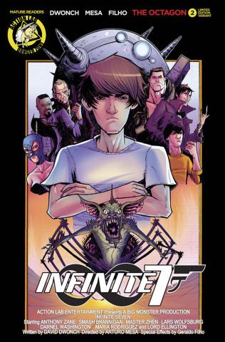 Infinite Seven #2 (Movie Poster Cover)