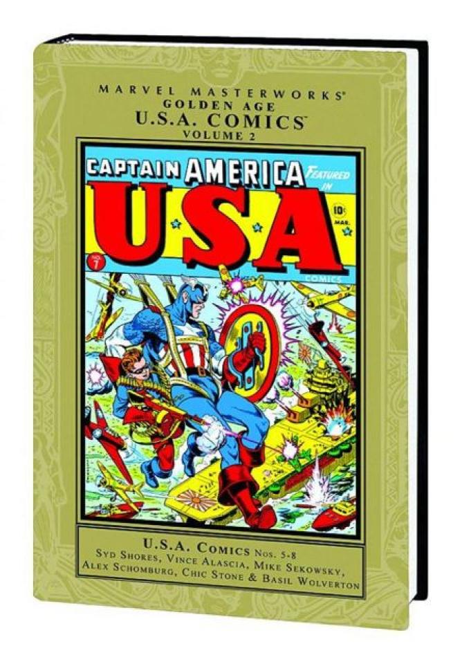 Golden Age U.S.A. Comics Vol. 2 (Marvel Masterworks)