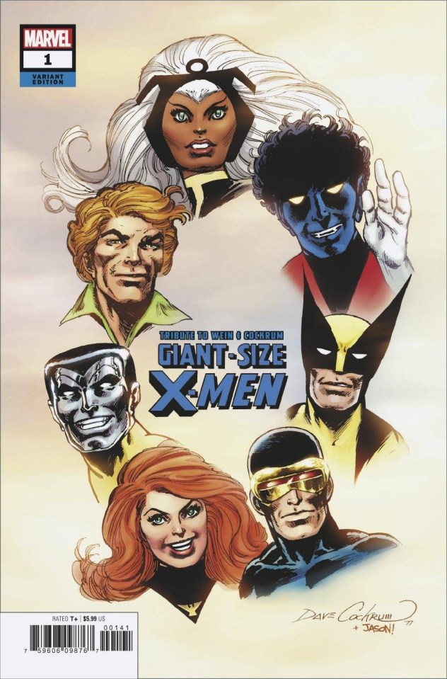 Giant Size X-Men: A Tribute to Wein and Cockrum #1 (Hidden Gem Cover)