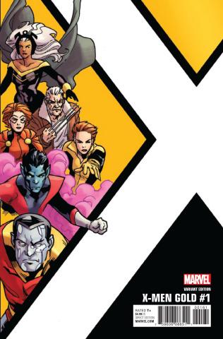 X-Men: Gold #1 (Kirk Corner Box Cover)
