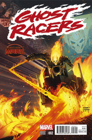 Ghost Racers #2 (Gedeon Danny Ketch Cover)