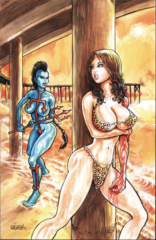 Cavewoman: Deep Water #1 (Massey Cover)