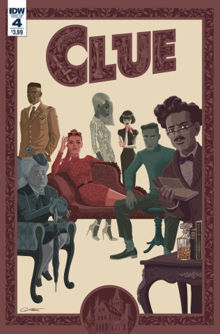 Clue #4 (Caltsoudas Cover)