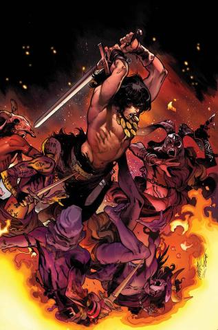 The Savage Sword of Conan #2 (Larraz Cover)