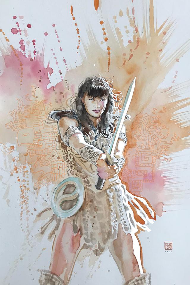 Xena: Warrior Princess #3 (10 Copy Mack Virgin Cover)