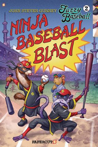 Fuzzy Baseball Vol. 2: Ninja Baseball Blast