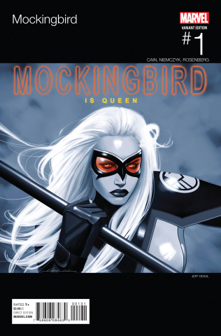 Mockingbird #1 (Dekal Hip Hop Cover)