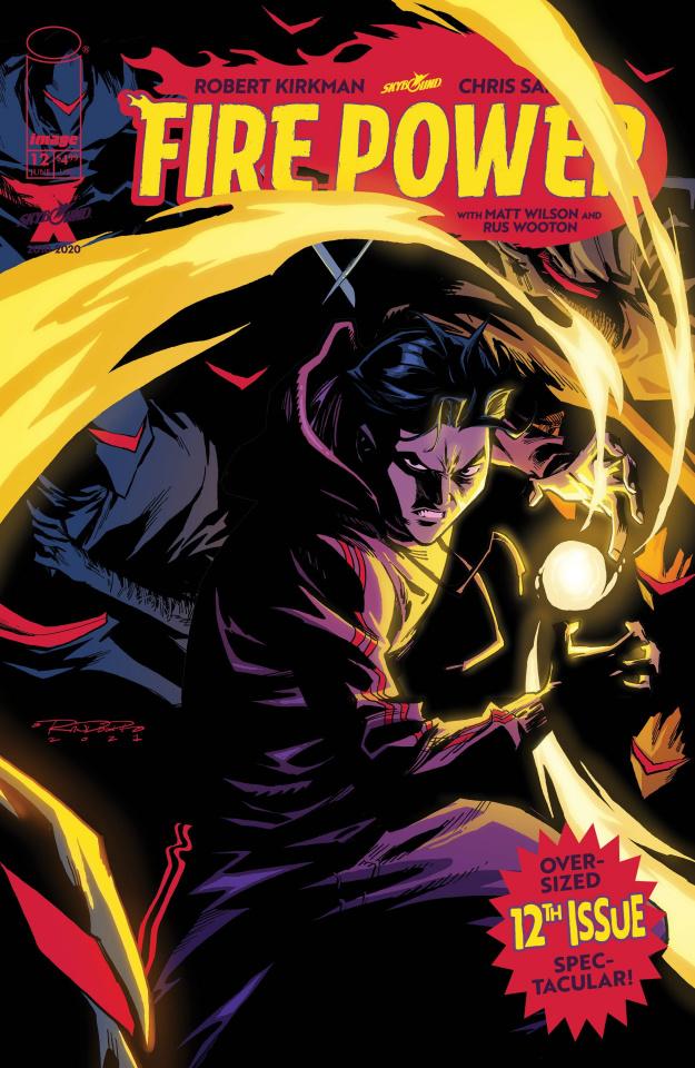 Fire Power #12 (Randolph Cover)