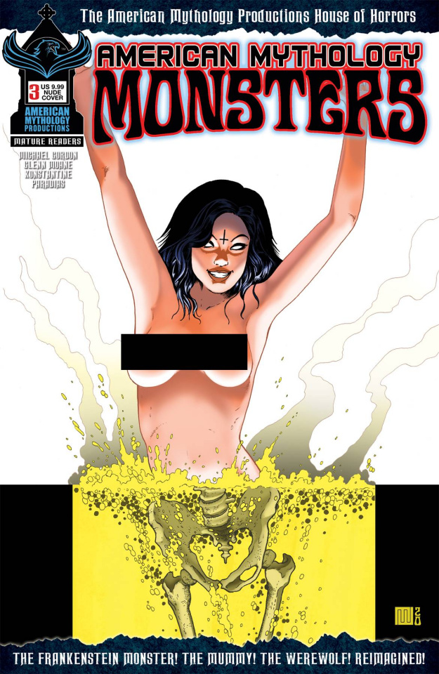 American Mythology: Monsters #3 (Racy Cover)