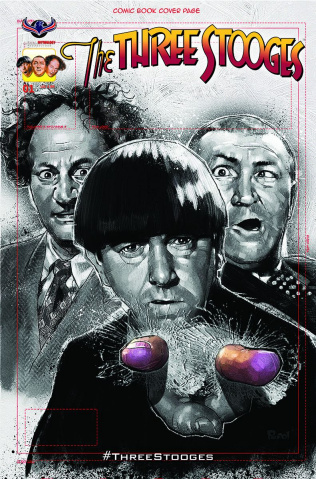 The Three Stooges: The Curse of Frankenstooge (Suibscription Cover)