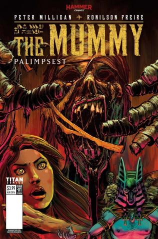 The Mummy #1 (Zornow Cover)