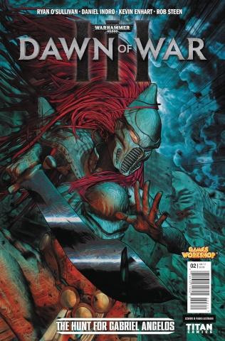 Warhammer 40,000: Dawn of War III #2 (Listrani Cover)