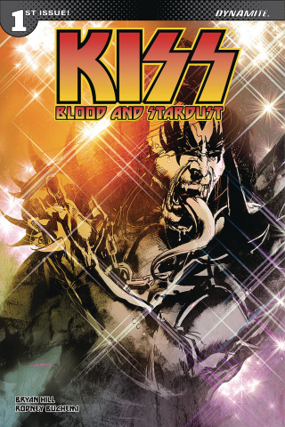 KISS: Blood and Stardust #1 (Haeser Cover)