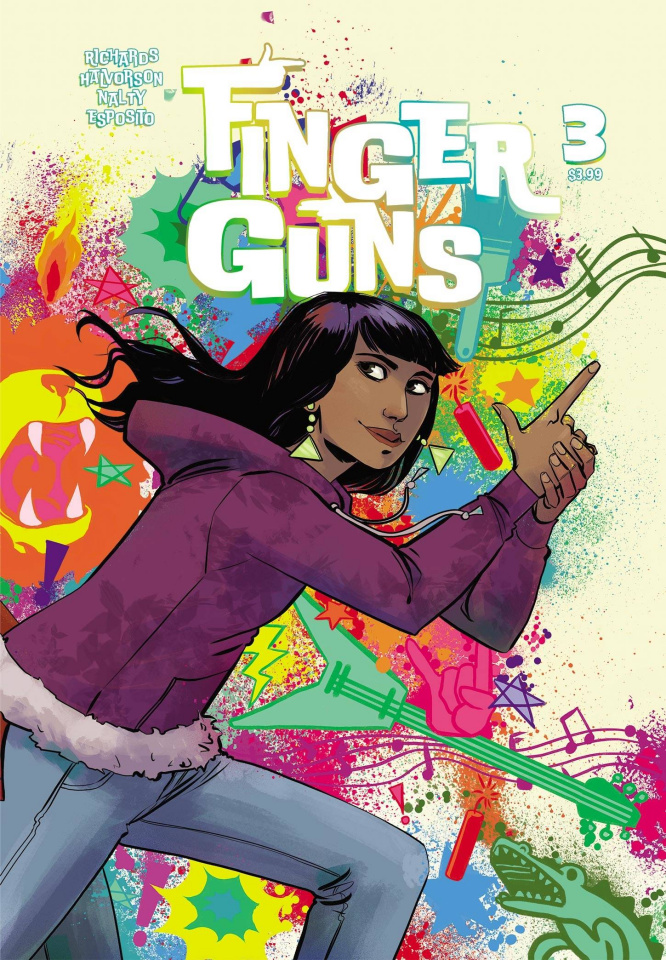 Finger Guns #3 (Hickman Cover)