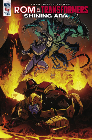 ROM vs. The Transformers: Shining Armor #4 (Ossio Cover)