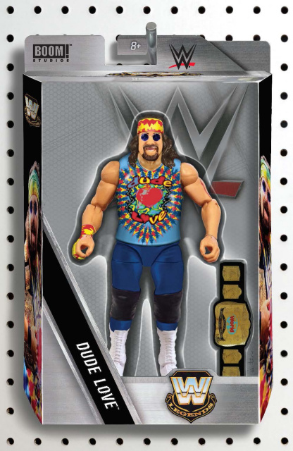 WWE #3 (Unlock Action Figure Cover)