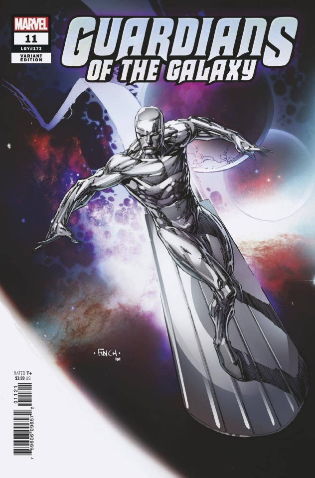 Guardians of the Galaxy #11 (Finch Silver Surfer Cover)