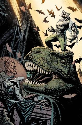 Batman vs. Bigby! A Wolf In Gotham #2 (Yanick Paquette Cover)