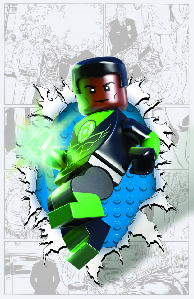 Green Lantern Corps #36 (Lego Cover)