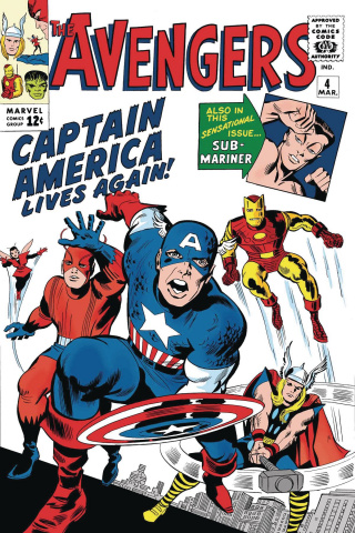 Captain America Lives Again! #1 (True Believers Kirby Cover)