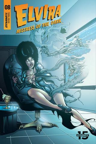 Elvira: Mistress of the Dark #8 (5 Copy Castro Cover)