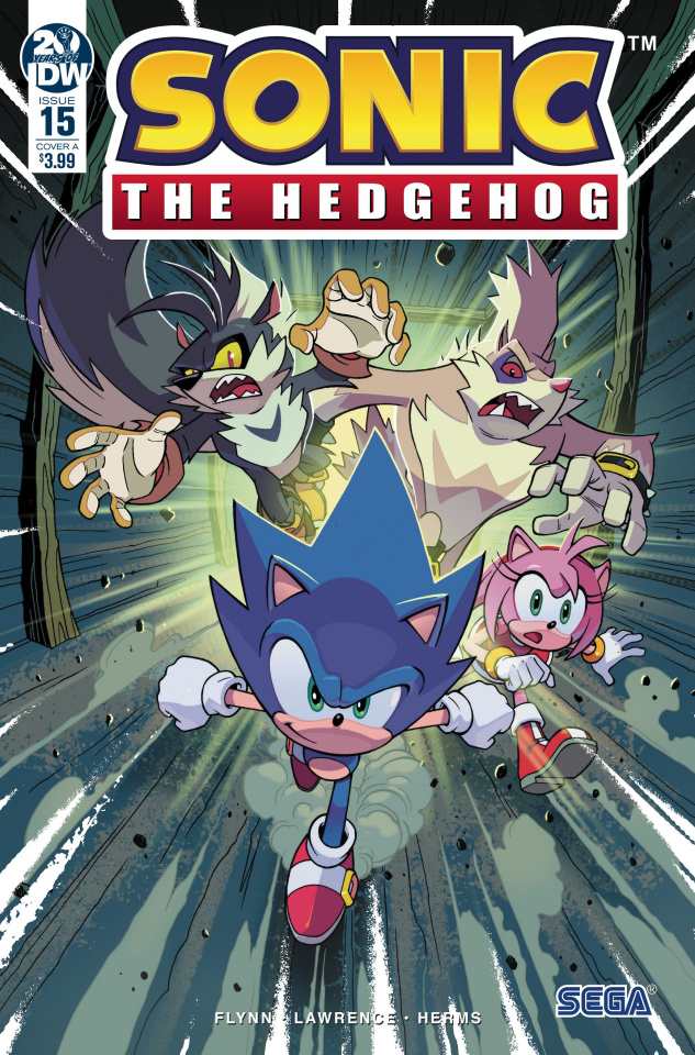 Sonic the Hedgehog #15 (Lawrence Cover)