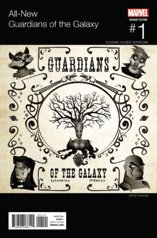 All-New Guardians of the Galaxy #1 (Veregge Hip Hop Cover)