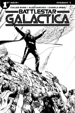 Battlestar Galactica #1 (20 Copy Guice Cover)
