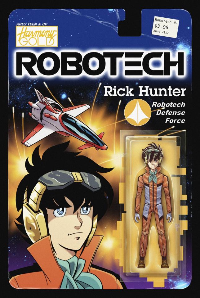 Robotech #1 (Shedd Action Figure Cover)