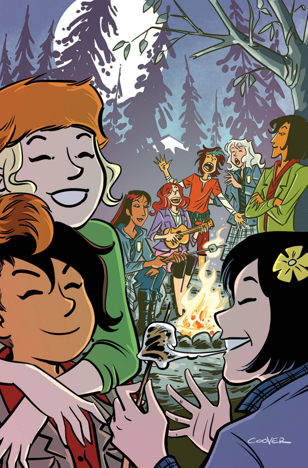Lumberjanes / Gotham Academy #2 (15 Copy Coover Cover)