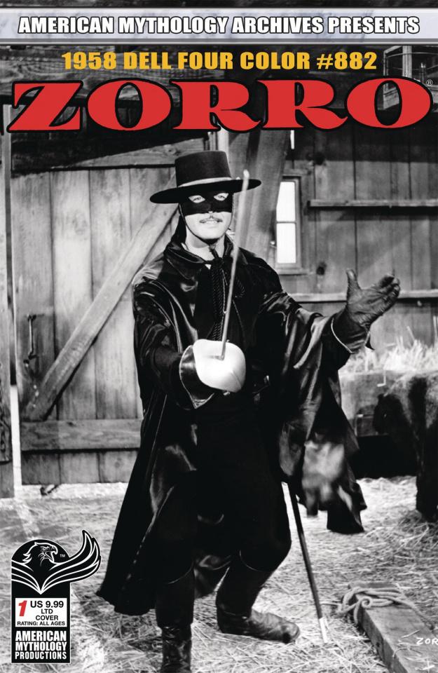 Zorro 1958 Dell Four Color #882 (Limited Cover)