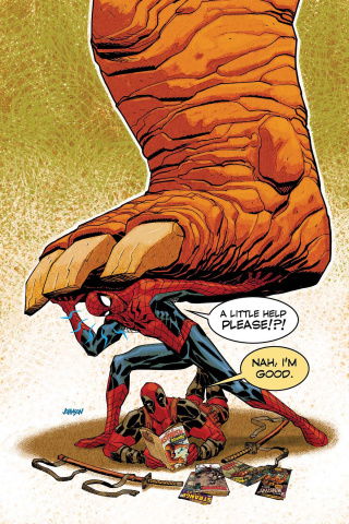 Spider-Man / Deadpool #1.MU