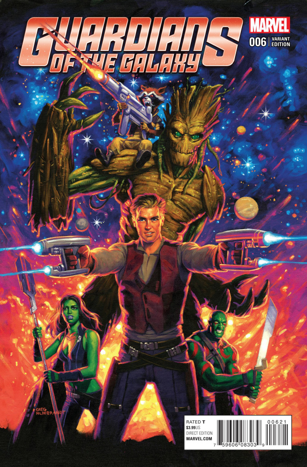 Guardians of the Galaxy #6 (Hildebrandt Classic Cover)