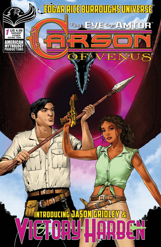 Carson of Venus: The Eye of Amtor #1 (Wolfer Cover)