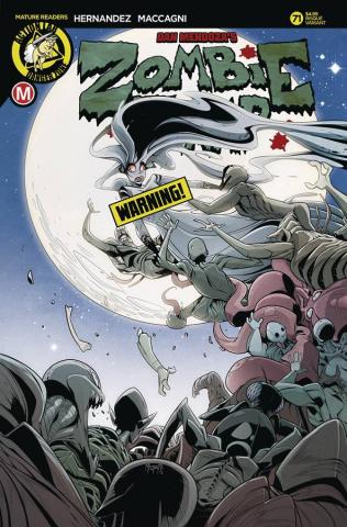 Zombie Tramp #71 (Maccagni Risque Cover)