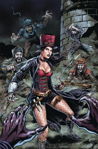 Van Helsing: The Sword of Heaven #3 (Abrera Cover)