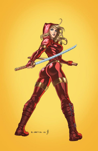 Grimm Fairy Tales: Red Agent - The Human Order #1 (Ortiz Cover)