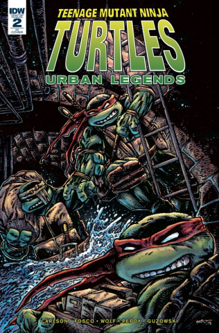 Teenage Mutant Ninja Turtles: Urban Legends #2 (10 Copy Cover)