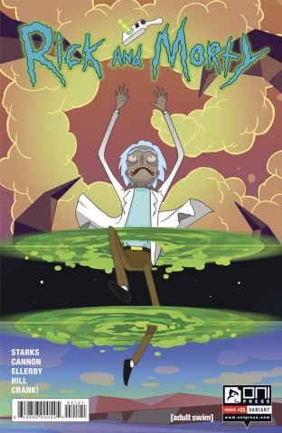 Rick and Morty #21 (Pekhletski Cover)