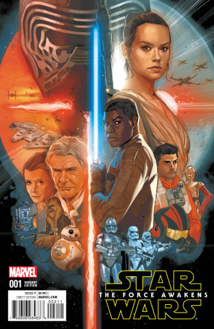 Star Wars: The Force Awakens #1 (Noto Cover)