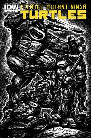 Teenage Mutant Ninja Turtles #50 (10 Copy Cover)