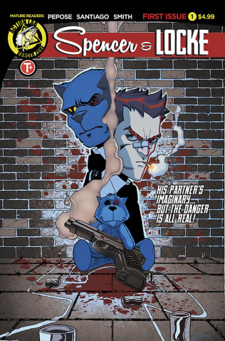 Spencer & Locke #1 (Mulvey Cover)