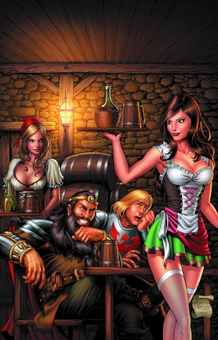Grimm Fairy Tales: Quest #2 (Reyes Cover)