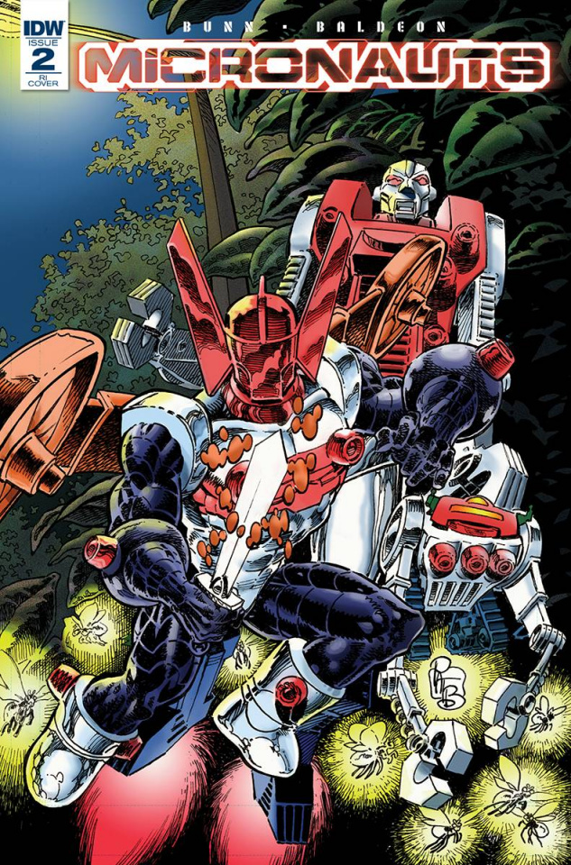 Micronauts #2 (10 Copy Cover)