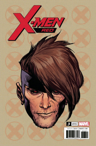 X-Men: Red #3 (Charest Headshot Cover)