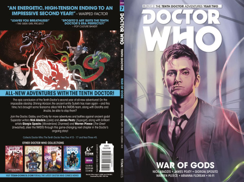Doctor Who: New Adventures with the Tenth Doctor, Year Two Vol. 7: War of Gods