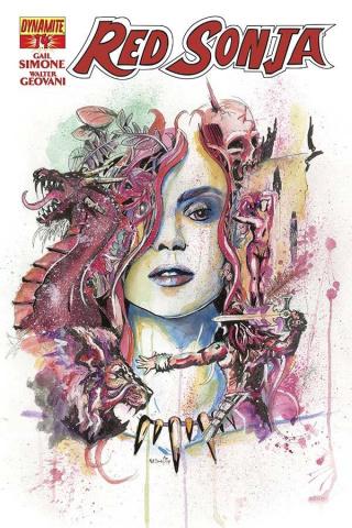 Red Sonja #14 (Matt Brooks Contest Winner Cover)